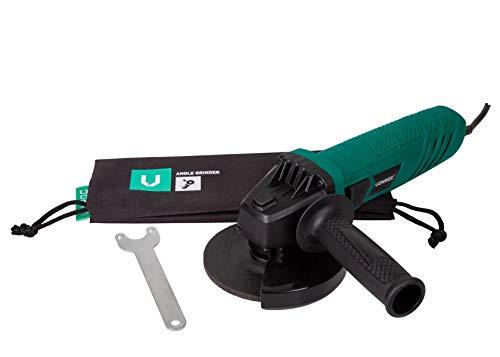 VONROC Winkelschleifer   Schleifwerkzeug - 650W - 125mm - inkl. Zubehör und Aufbewahrungstasche