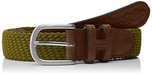Hackett Parachute Belt 542 Cinturón, Verde (Khaki 8HO), M para Hombre