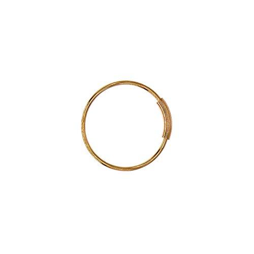 Matériel: Acier chirurgical 316L qui est sans allergies et ne corrode pas facilement, rouille, sans nickel (1PCS - 8mm d'or)