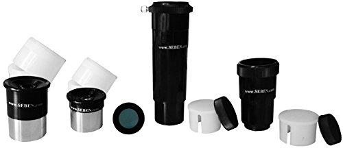 Okular 4mm + 20mm + Umkehrlinse + Barlowlinse 1,25
