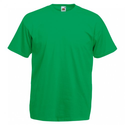 Grüne (Fruit Of The Loom Herren Kurzarm T-Shirt L,Grün)