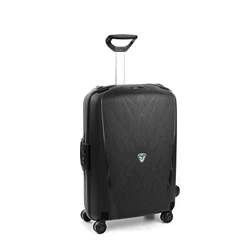 Roncato Light Trolley Medio - 4 Ruote, 68 Cm, 80 Litri, Nero