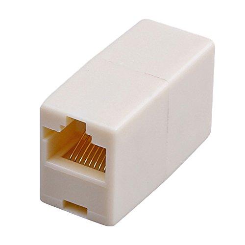 Ieee 802 Lan (RotSale® 1x RJ45 Ethernetkabel Kupplung Netzwerk Internet Kabel LAN Verbinder Adapter 8P8C BU/BU Würfel Netzwerkkabel RJ45 auf RJ45 Buchse)
