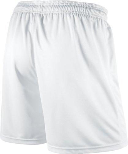 Nike Pantaloni corti sportivi Park Knit per calcio, Uomo Bianco (White)