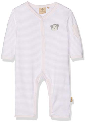 Bellybutton mother nature & me Unisex Baby Schlafanzug 1tlg. 1/1 Arm Schlafstrampler, Rosa (Bb Rose|Rose 2251), 80