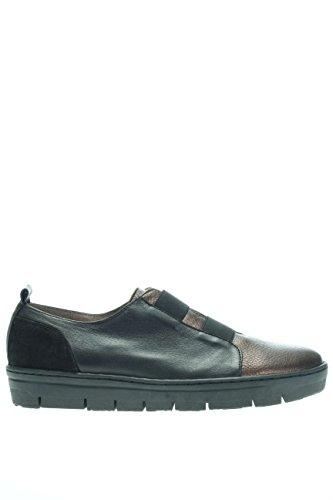 A 5505.Sneaker elastici.Nero.41