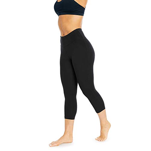 Balance Collection Damen Brooke High Rise Bauchkontrolle Capri Legging XL schwarz