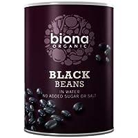 Biona Frijoles Negros Orgánicos En 400g De Agua (Paquete de 2)