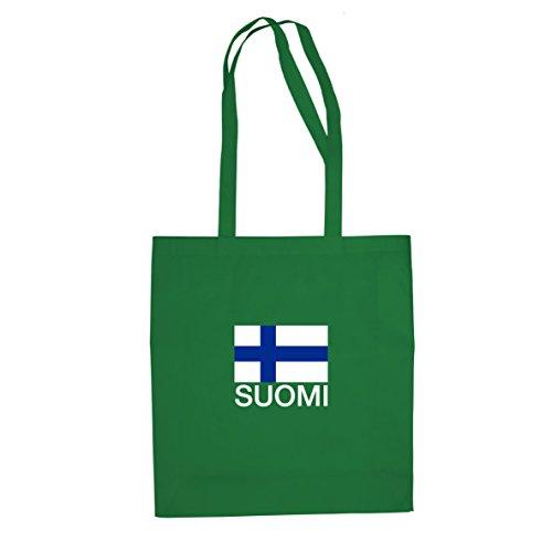 Finlandia / Suomi - Borsa Di Stoffa / Borsa Verde