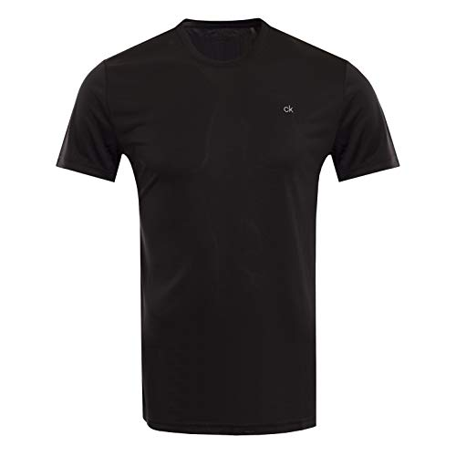 Calvin Klein Herren Harlem TECH Tee Golf-T-Shirt, schwarz, X-Groß