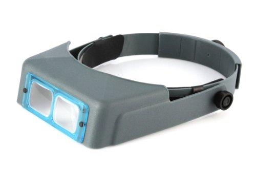 Optivisor DA-5 2,5x handfreies Stirnband Vergrößerungsvisier Kopfbandlupe