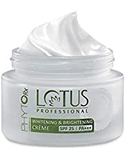 Lotus Professional Phyto Rx Whitening And Brightening Creme, SPF 25 PA+++, 50g