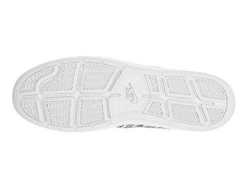 Nike Herren Tennis Classic Ultra Flyknit Turnschuhe Blanco (White / White-Black)