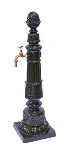 Pavimento colonna rubinetto h110cm decorazione gestaltung alu antico fontane ornamentali da giardino