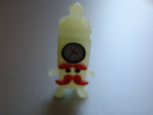 ings Halloween Glow in the Dark Clear Mini Ben #97 ULTRA ... ()