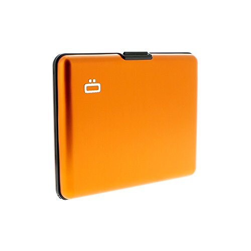 Ögon BS-Orange Portefeuille Big Stockholm wallet Orange Aluminium anodisé -Orange