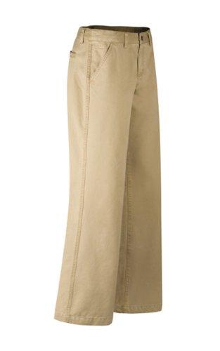 Mountain Khakis Damen Teton Twill Hose, Damen, Retro Khaki, 0 Long - Braun Twill-hose