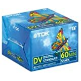10 (2 x 5 pièces) TDK mini DV DVM cassettes vidéo 60 min