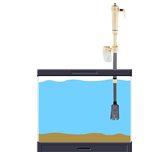 Baoblaze Elektrischer Mulmsauger Schlammsauger Aquarium Staubsauger Bodenreiniger Sand Kies Reiniger