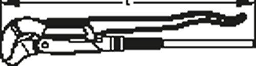 DAKO 100020 Eckrohrzange Snap 100 5,1 cm (2 Zoll) L.550mm W.80mm