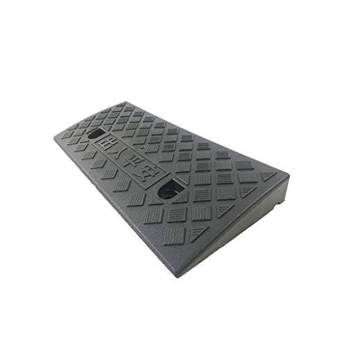 Gummimatte LXFTJFUD Kunststoff Bordsteinkante Rampen, tragbare Auffahrt Rand Hang für Rollstuhl Auto Fahrzeuge Fahrrad Motorrad Boot Anhänger Einparkhilfe unterstützen hohe 5 cm -