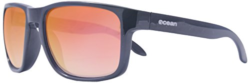 OCEAN SUNGLASSES wood Victoria - lunettes de soleil polarisÃBlackrolles en Bambou - Monture : Noir - Verres : Revo Vert (53001.1) P6A8FlepQ6