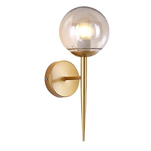 Wandlampe Modern Design Gold Rund EisenKunst LED Wandleuchter Wandlight Wandstrahler Wandspot Antik...