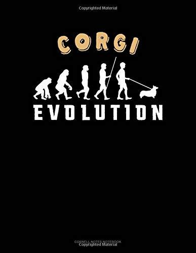 Corgi Evolution: Cornell Notes Notebook