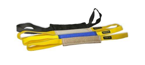 Artikelbild: Dean & Tyler Pocket Tug Paket enthält Jute/Französisch Leinen/Fire Schlauch/Leder Tug, lang, 30x 5cm, 4Stück