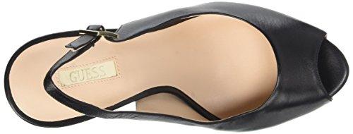 Guess Hue Lea05 Scarpe con tacco, Donna Nero