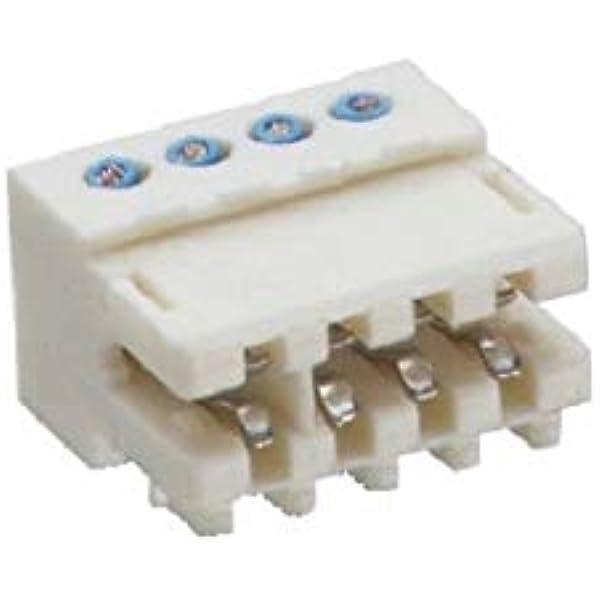 4-polig Lumberg 351704K01 Anschluss RAST 2.5 Teilung 2,5 mm