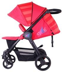 iSAFE Sail Stroller - 7 Colours! (Red) iSafe Media Viewing Extendable Hood Light Weight Sturdy Structure 5
