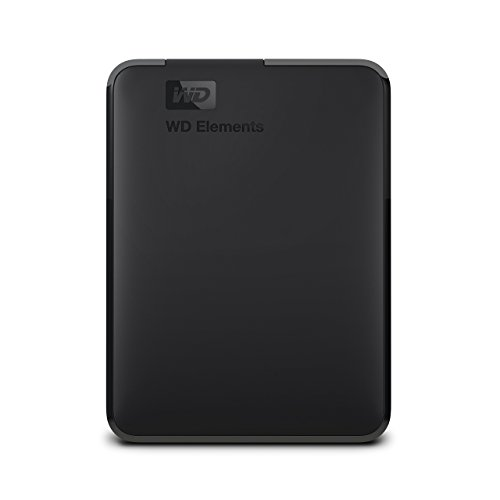 Western Digital Elements Portable HDD Esterno 2000 GB, 3.5 Pollici, USB 3.0, Compatibilita' Mac, Nero