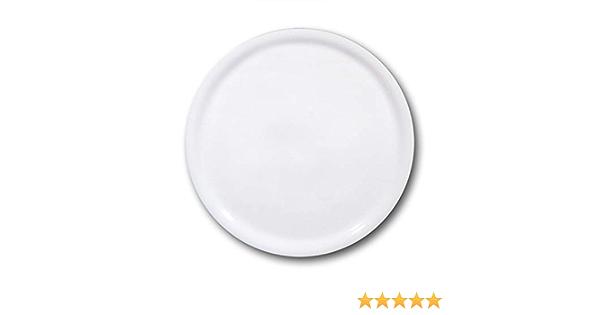 PIZZATELLER Ø 33 cm PORZELLAN Speiseteller Teller Pizza Universalteller Weiß