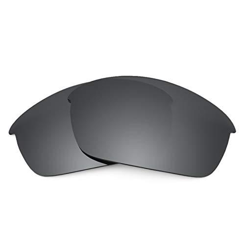 Revant Ersatzlinsen für Oakley Flak Jacket Schwarz Chrom MirrorShield®