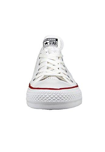 Converse Chucks 551541 All Star Crochet Blanc Blanc Blanc Noir Blanc