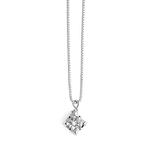 collana donna gioielli Comete Punti Luce classico cod. GLB 1280