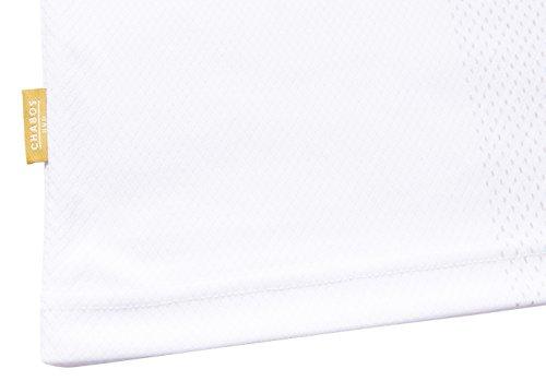 Chabos IIVII Herren Oberteile/T-Shirt Bianci Soccer Weiß