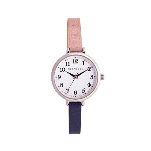 tokyobay-t523-pk-piel-de-dos-tonos-de-acero-inoxidable-de-la-mujer-band-esfera-blanca-reloj-intelige