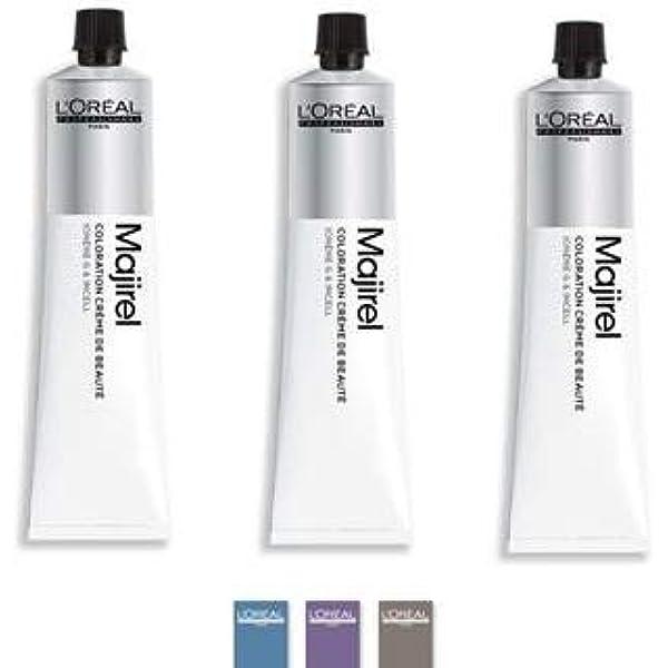 Pack 3x50ml tintes Majirel LOréal nº8 rubio claro: Amazon.es ...