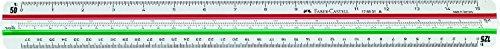 Faber-Castell 853M FABER 176531 853A - Regla escala triangular