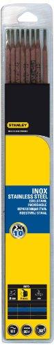 Stanley 460726 - Electrodos de acero inoxidable (10 unidades)