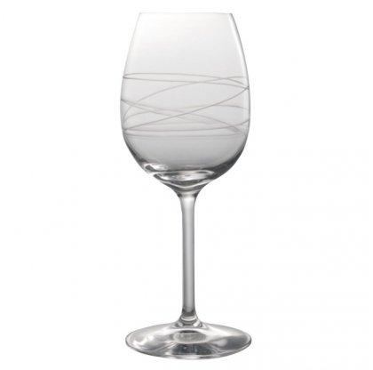 DEGRENNE - Galatée Lot de 6 verres à vin 35 cl - Transpa