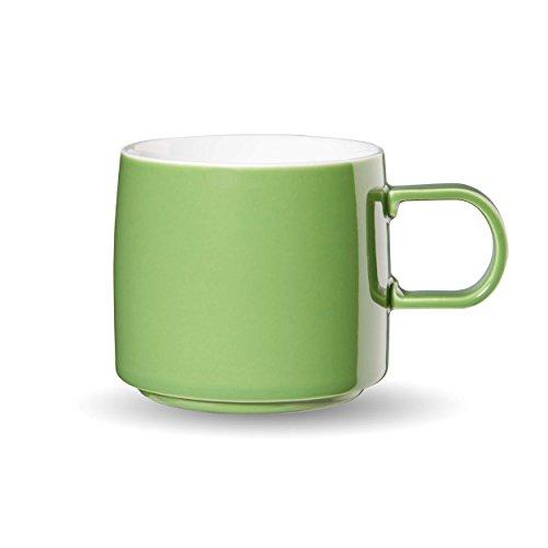 ASA Mug, Céramique, Vert, 9,5 cm cm