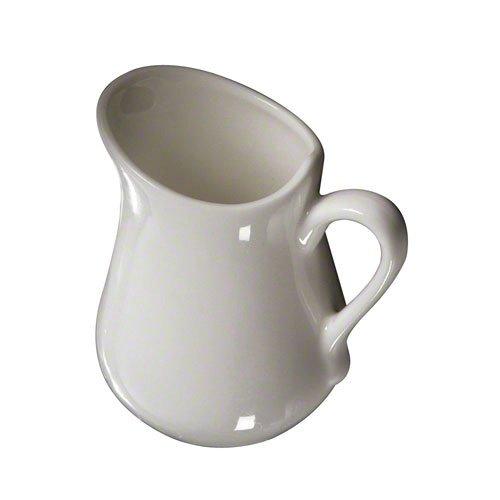 American Metalcraft PBC25 Ceramic Porcelain Creamer, 2-Ounce Porcelain Creamer