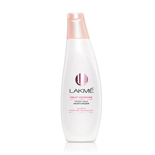 Lakme Peach Milk Moisturizer SPF 24 PA Sunscreen Lotion, 120ml