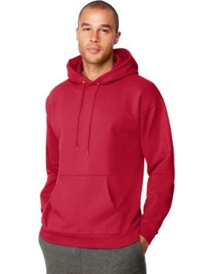 Adult Ultimate Cotton Hooded Pullover - Dunkelrot - M (Pullover Cotton Hooded Ultimate)