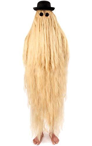 Für Erwachsene Haloween Kostüm - Generique - Haariger-Vetter-Kostüm für Erwachsene blond