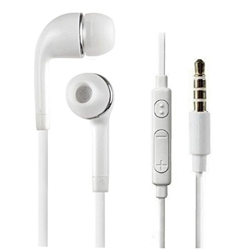 Samsung Metro Duos C3322 In-Ear Supported Stereo Headset With Volume Controller,3.5 Mm Jack MP3 Earphones With Mic For Samsung Mobiles By Printsquad  available at amazon for Rs.199