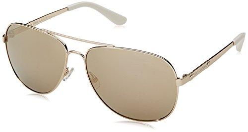 Juicy Couture Damen JU 589/S JO 3YG Sonnenbrille, Light Gold Bronze Grey Speckled, 59